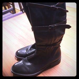 Shoes - Mercanti Florentini Genuine Leather Boots Siz 6